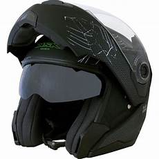 Casque Moto Modulable Black Spider