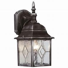 power master s5901 traditional black silver wall lantern
