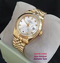 Jam Tangan Rolex Oyster Perpetual Datejust Aaa Matic 4cm
