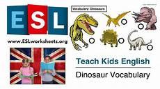 dinosaur grammar worksheets 15313 esl worksheets for dinosaur vocabulary