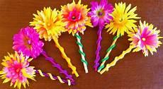 Blume Basteln Kinder - flower craft for craftshady craftshady