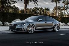 2015 audi rs7 fitted with 22 inch bd 8 s in silver
