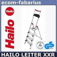 hailo leiter aluleiter 8854 001 4 stufen xxr