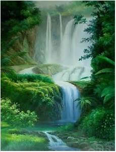 Lukisan Pemandangan Alam Paintings Of Landscape