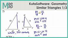 geometry worksheets similar triangles 888 kutasoftware geometry similar triangles part 1