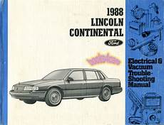 electric and cars manual 1991 lincoln continental electronic toll collection shop manual continental service repair 1988 lincoln electrical book haynes ebay