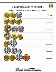 counting money worksheets uk 2365 basic money worksheets count the money to 5 pounds 1 gif 800 215 1035 money