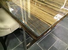esstisch glasplatte recyceltes holz tisch l 228 nge 220 cm