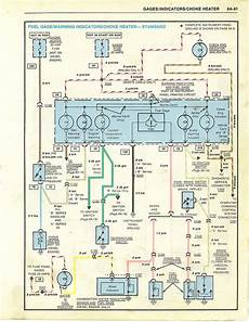 85 el camino wiring diagram choke heater diode el camino central forum chevrolet el camino forums