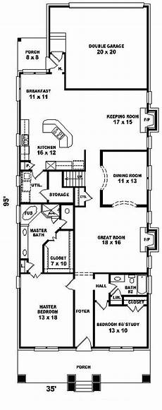 howard lake narrow lot home plan 087d 0808 house plans