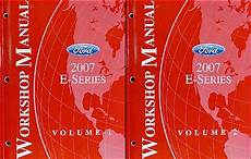 car repair manual download 1998 ford club wagon electronic valve timing 2007 ford econoline van and club wagon repair shop manual original set of 2
