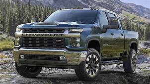 The 2020 Chevrolet Silverado 2500 HD TakesTowing To A New