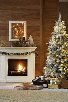 Wohnung Weihnachtlich Dekorieren - kuschelige weihnachten am kamin mit festlicher deko