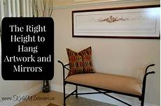 the right height to hang artwork and mirrors tips and ideas new apt picture hanging height