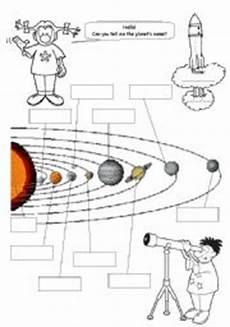 solar system esl worksheet by belatrix