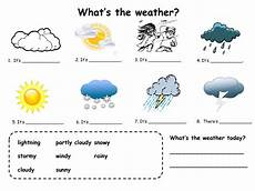 different weather worksheets 14532 fill in practice for weather