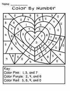 valentine s day color by number freebie valentines day activities valentine activities