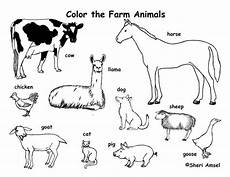 Malvorlagen Tiere Bauernhof Farm Animals Free Colouring Pages