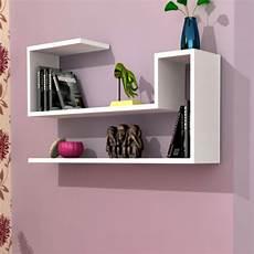 mensola a muro mensola renton a muro design in legno colore bianco
