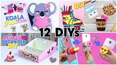 diy room decor diy school supplies 12 crafts ideas for