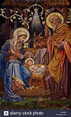 die weihnachtsgeschichte geburt jesu mosaik