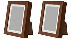 New Ikea Ribba 5x7 Picture Frame Wood Grain Set Of 2