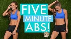 5 minute abs youtube