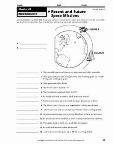 missions worksheets 18376 recent and future space missions worksheet for 5th 8th grade lesson planet