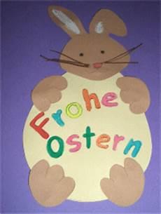 Osterhasen Basteln Aus Papier - osterhase mit ostergr 252 223 en basteln im kidsweb de