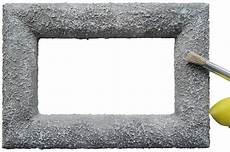 styropor bilderrahmen anleitung f 252 r einen styroporbilderrahmen in steinoptik