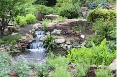 Steingarten Mit Teich - 32 backyard rock garden ideas