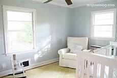 sw sleepy blue ten june nursery update a freshly painted baby boy s room sherwin williams