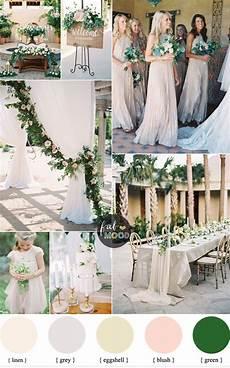 Green Wedding Color Palette