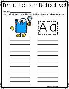 letter detective worksheets free 23066 write the room letter detective 26 letter worksheets tpt