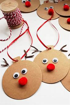 weihnachtsgeschenke mit kindern basteln rudolph gift tags easy craft small home soul