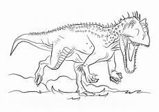 Ausmalbilder Dinosaurier Indominus Rex 25 Beste Ausmalbilder Jurassic World Dinosaurier