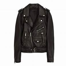 un perfecto en cuire noir veste en cuir zara blouson