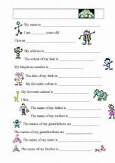 me and my family esl worksheet by loebe