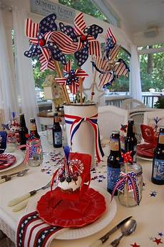 Decorating Ideas For July Fourth by 144 Best Images About White And Blue Table Settings On
