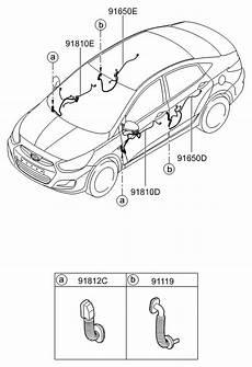 2016 hyundai accent door wiring hyundai parts deal