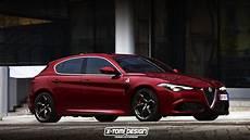 2019 Alfa Romeo Giulietta Successor Rendered With Giulia