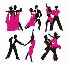 danse de salon silhouette of stock vector 169 jodo19 39332337