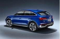 new audi q5 sportback mid sized suv receives coupe treatment autocar