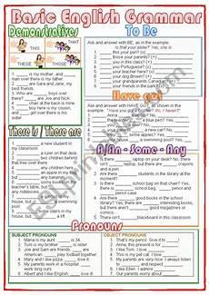 basic english grammar worksheets basic english grammar esl worksheet by nuria08