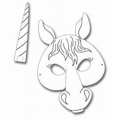 kindermasken pferd 6er pack masken basteln masken