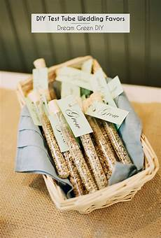 diy test tube wedding favors dream green diy