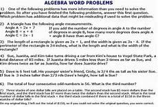 algebra problem solving worksheets 8585 cobb ed math 2011 05 15