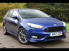 used ford focus 1 5 tdci 120 st line 5dr blue 2017 estate