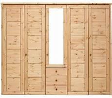 massivholz schlafzimmerschrank 5t 252 rig kleiderschrank