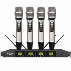 Professional Wireless Microphone Handheld System Karaoke by Professional Wireless Uhf Handheld Microphone System Dj